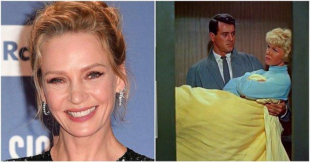 7. Uma Thurman - Pillow Talk (1959)