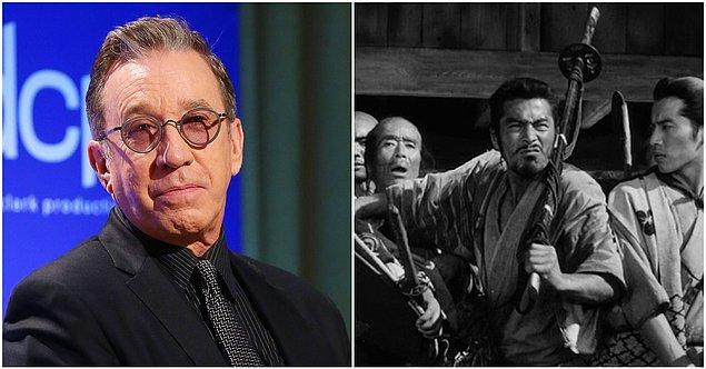 13. Tim Allen - The Seven Samurai (1954)