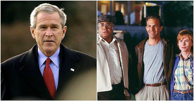 26. George W. Bush - Field of Dreams (1989)