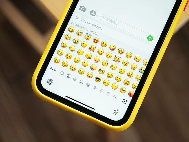 Bu da aslında emojilerin hayatımıza ne denli girdiğinin en büyük kanıtlarından biri.