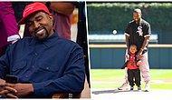 Basketbol Maçına Giderken Giydiği Kıyafetlerle Herkesi Şaşırtan Kanye West