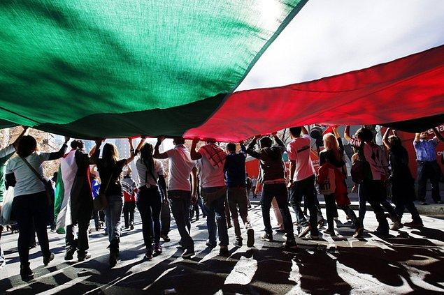 Şili'de büyük bir Filistinli nüfusu var!