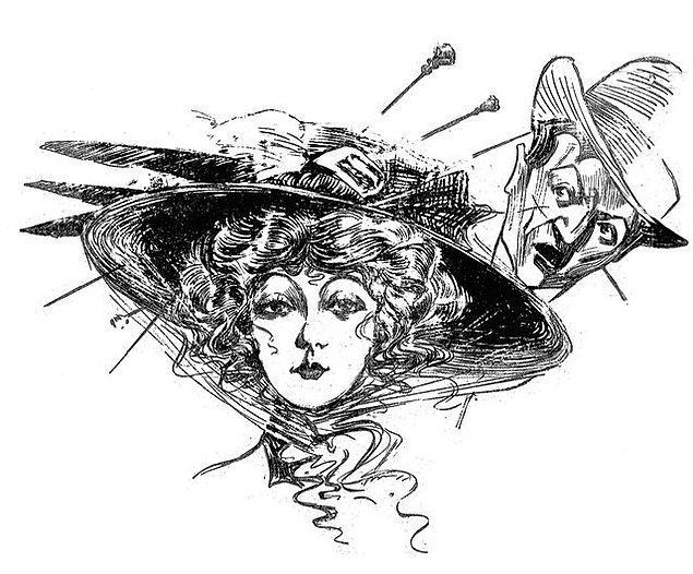 1900'lerin başında kadınların taktıkları şapkalara tutturulan iğneler öyleydi mesela, kadınların tacizden korunma silahına dönüşmüşlerdi.