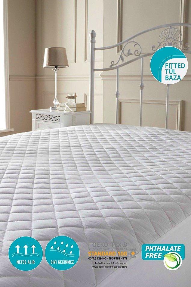 1. Hem sağlığınızı koruyun hem de yatağınızı! İşte aradığınız çok yönlü yatak koruyucu!