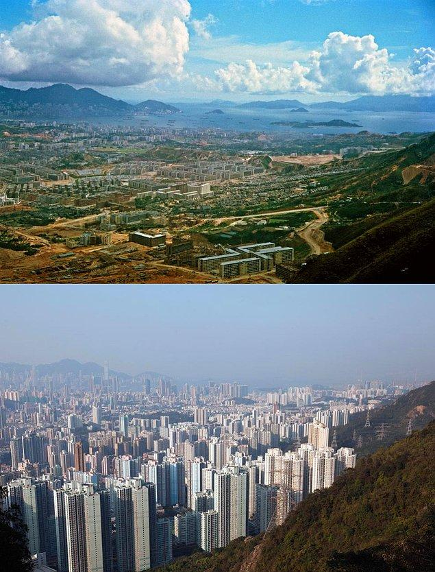 5. Hong Kong, Kowloon Adası 1964 - 2016:
