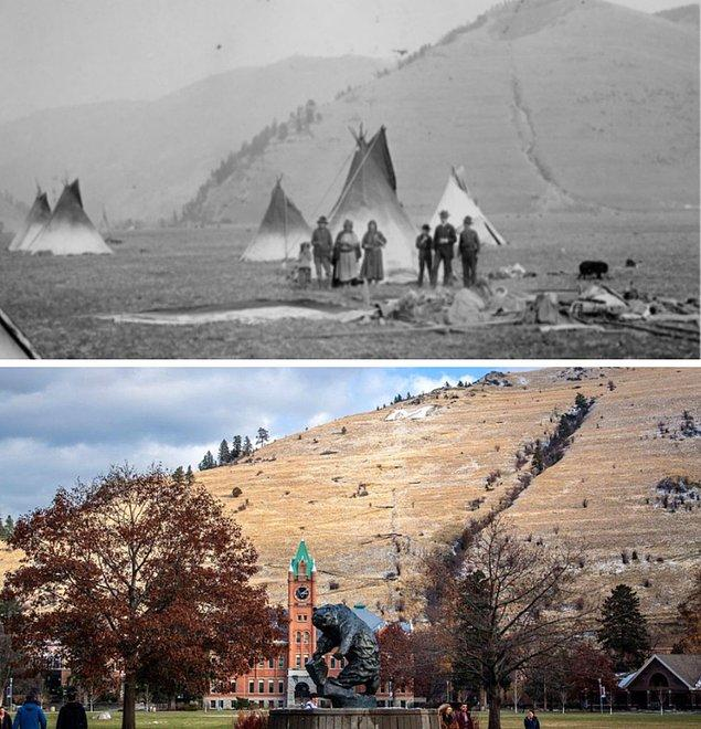 6. 150 yıl arayla çekilen Montana Üniversitesi: