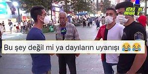 Sokak Röportajlarındaki 'Telefonunu Göster' Lobisini Çökerterek Gençlere 'Oh Be' Dedirten Dayı