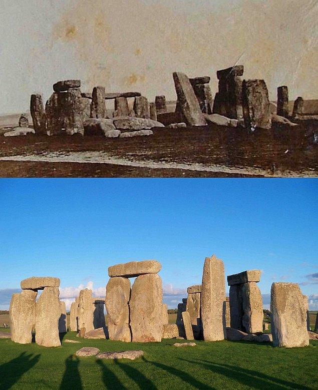 10. Stonehenge 1877 - 2019: