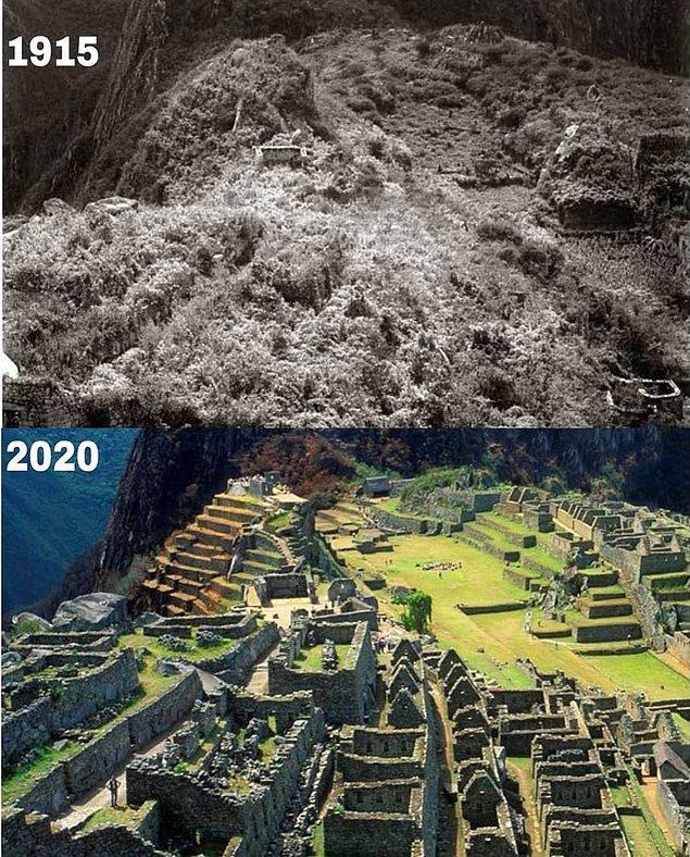 11. Machu Picchu 1915 - 2020: