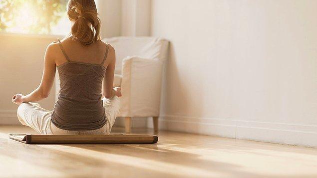 Farkındalık meditasyonu yapın! Hem dinginleşeceksiniz hem de sırtınızdaki yüklerden kurtulacaksınız.