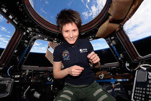 Avrupa Uzay Ajansı astronotu Samantha Cristoforetti, Dünya'ya geri döndüğünde ağırlıksızlığa gerçekten alıştığını belirtmiş.