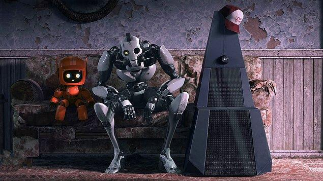 16. Love, Death and Robots (2019)