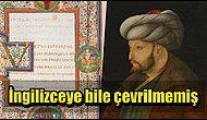Bir Rönesans Şairinin Fatih Sultan Mehmet Hakkında Beş Bin Dizelik Şiir Yazdığını Biliyor muydunuz?