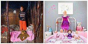 Dünyanın Dört Bir Yanından Çocukların Oyuncaklarının Neler Olduğunu Gösteren Bu Projeyi Mutlaka Görmelisiniz!