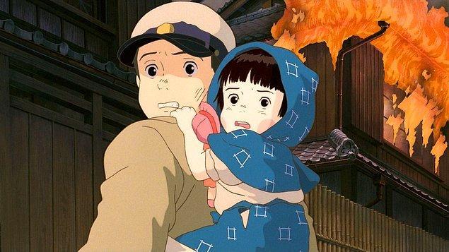 Isao Takahata'nın çektiği Grave of the Fireflies, tüm dünyada sadece bir ülkede en popüler animasyon filmi olarak yer almış. Orası neresi mi?