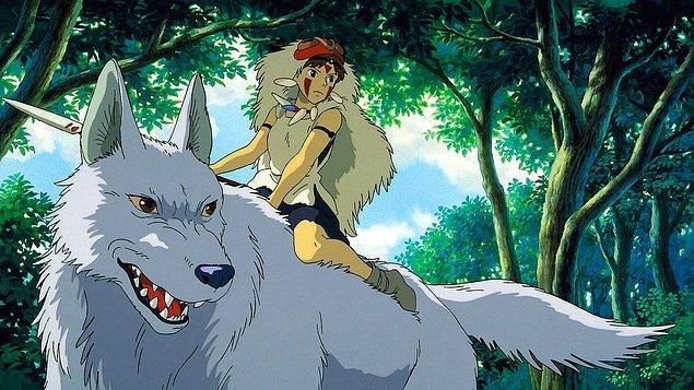 Miyazaki'nin bir başka kült filmi Princess Mononoke, aralarında Libya'nın da olduğu tam 13 ülkede seviliyor.