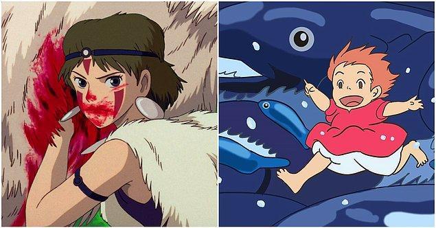 Dünyada en çok aratılan Ghibli filmleri arasında Princess Mononoke ikinci, Ponyo ise üçüncü sırada.