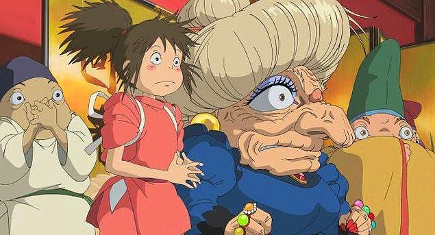 Türkiye'de her ne kadar Spirited Away çok sevilse de dünyada ilk 20'ye girecek kadar Ghibli filmi izlemiyoruz...
