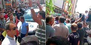 Polisin Motosikletteki Yolcuyu Vurması Emniyet Müdürlüğü Önünde Protesto Edildi