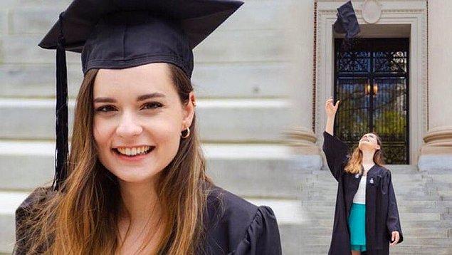 2. Eşkıya Dünyaya Hükümdar Olmaz dizisi oyuncularından Ece Hakim, 2021 yılında ABD üniversitelerinde başarı gösteren 25 Türk öğrenciden biri oldu.