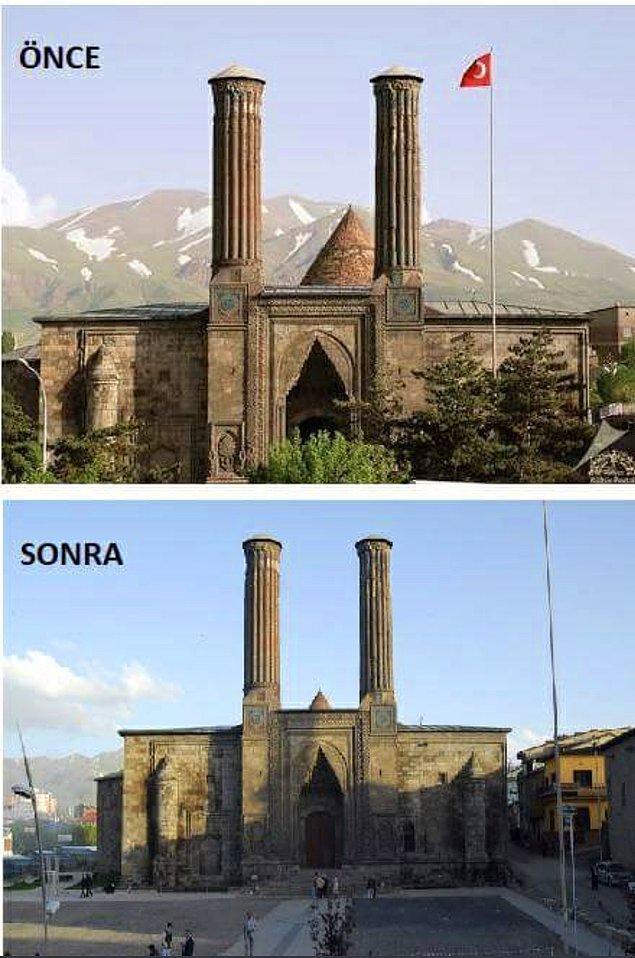 1. Çifte Minareli Medrese (1265) - Erzurum