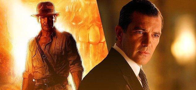 13. Antonio Banderas 'Indiana Jones 5' oyuncu kadrosuna katıldı.