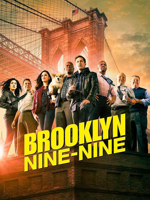 14. Brooklyn Nine Nine'ın final sezonundan bir poster paylaşıldı.