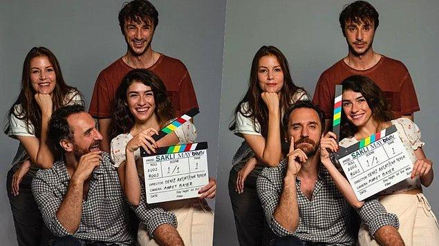 15. Yıldız kadrolu BluTV dizisi Saklı'nın çekimlerine başlandığı resmi olarak duyuruldu.