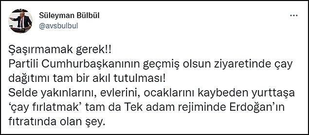 Erdoğan'ın bu hareketine CHP'den çok sayıda isim tepki gösterdi. 👇