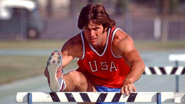 1. Caityln Jenner, 1976 Montreal Olimpiyatları'ndan altın madalyayla dönmüş bir atlet.
