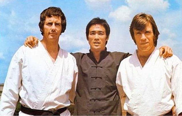 9. Tang Soo Do, Brezilya jiu jitsu ve judo sporlarında siyah kuşağı olan Chuck Norris, onlarca turnuva kazandı.