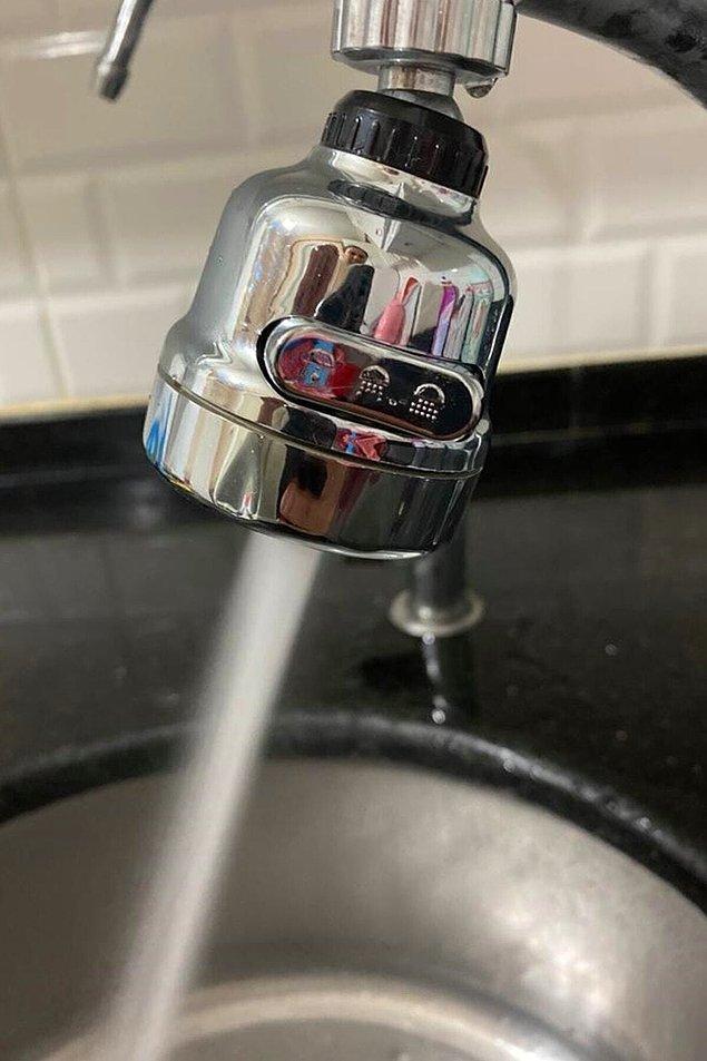 3. Su israfını önlemenize yardımcı olacak musluk başlıkları için;