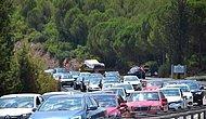 Tatilciler Dönüş Yolunda: Antalya-Muğla Karayolunda 15 Kilometre Araç Kuyruğu