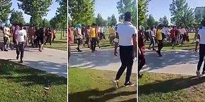 İstanbul'da İki Afgan Grup Arasında Çıkan Kavga Kameralara Yansıdı