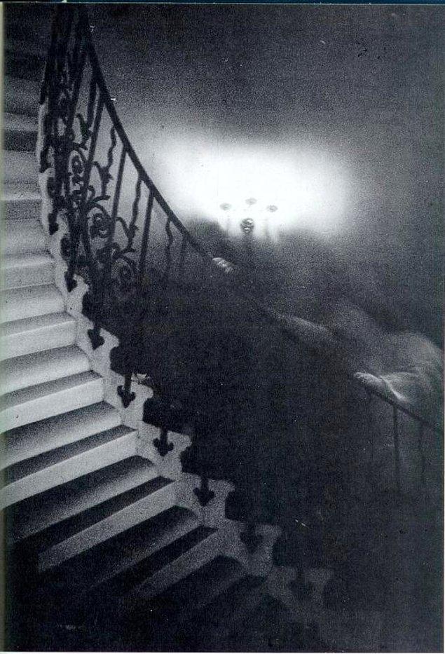 2. Birçok hayalet fotoğrafında olduğu gibi ünlü 'Tulip Staircase Ghost' fotoğrafı da basımına kadar fark edilmedi...