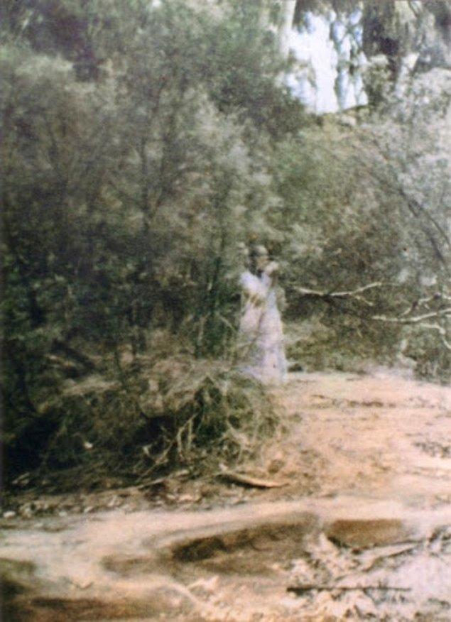 6. 1959 yılında Corroboree'yi ziyaret eden kişi, fotoğraf basımının ardından garipliği keşfetti...