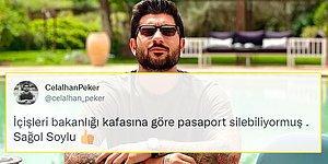 Sedat Peker'in Oğlu: 'Pasaportum İptal Edildi'