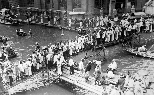 Tarihi kayıtlara göre bilinen en büyük sel felaketi 18 Ağustos 1931'de Çin'de yaşandı.