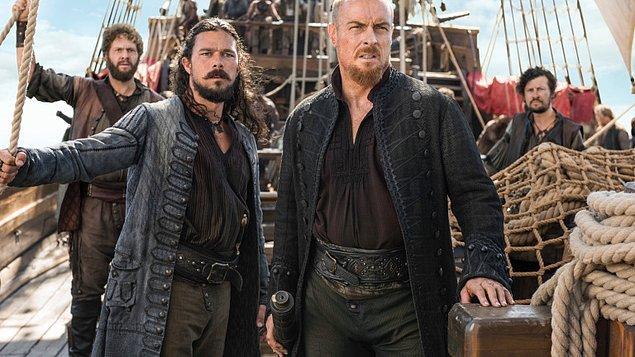 12. Black Sails (2014-2017)