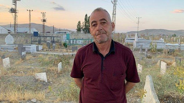 'Ben buraya geldiğimde burada sadece iki mezar taşı vardı'