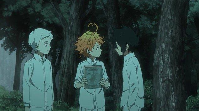 15. Yakusoku no Neverland (2019)