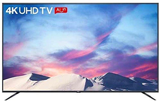 10. TCL 50P8M 4K UHD DVBS Android Smart Led Tv [Enerji Sınıfı A+]