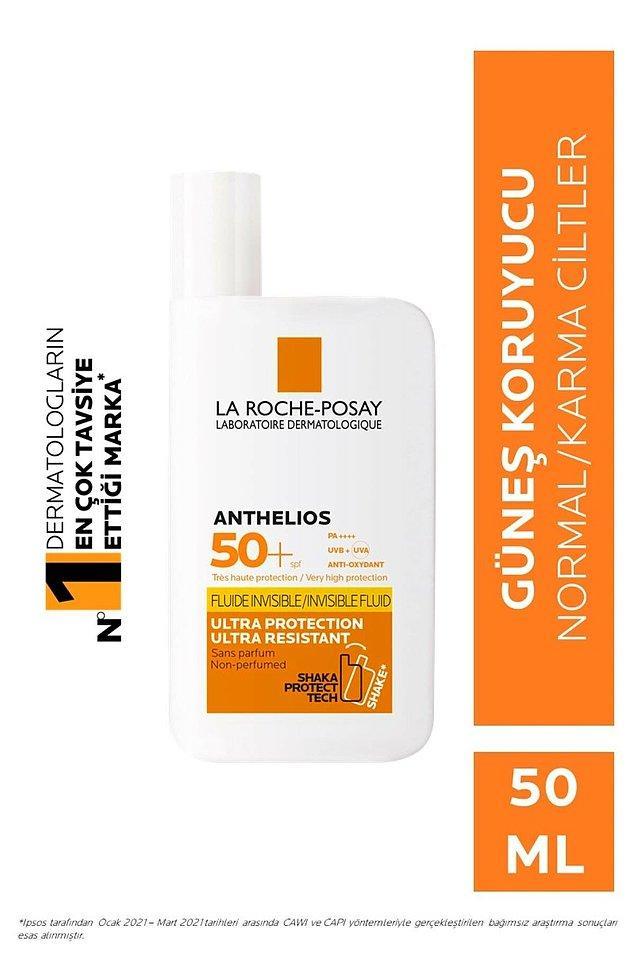 2. La Roche Posay güneş kremi dermatologların da önerisi...