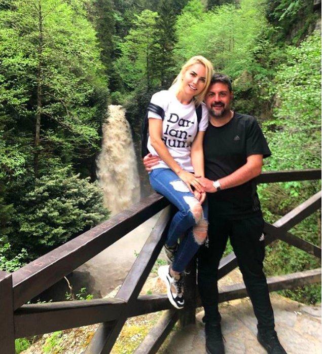 Öncelikle yasak aşkı Şafak Mahmutyazıcıoğlu ile hala birlikte olduğunu duyurmuş,
