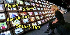 Popüler Markaların En Çok Tercih Edilen Televizyon Modelleri, Özellikleri ve Fiyatları