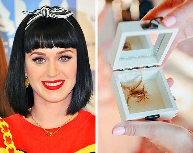 3. Katy Perry: Saç biriktirmek