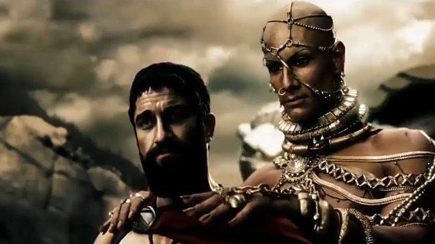 """14. """"Ben İranlıyım ve '300 Spartalı' filmindeki İranlı karakterde çok fazla hata yapılmıştı."""""""