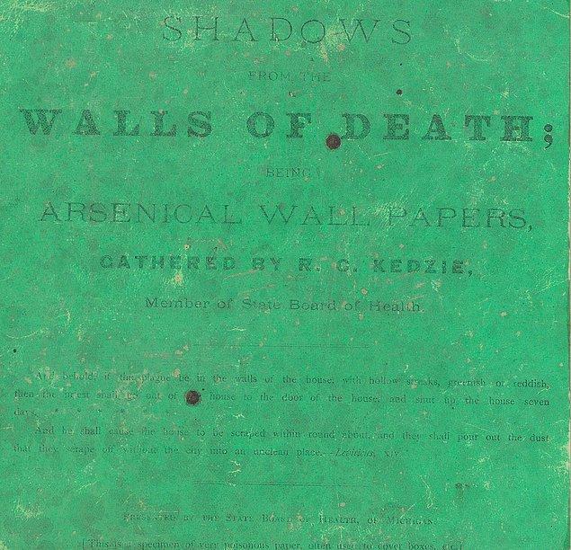 1874 tarihinde basılan Shadows from the Walls of Death yani Ölümcül Duvarların Gölgeleri isimli kitap, tam olarak isminin hakkını veriyor.