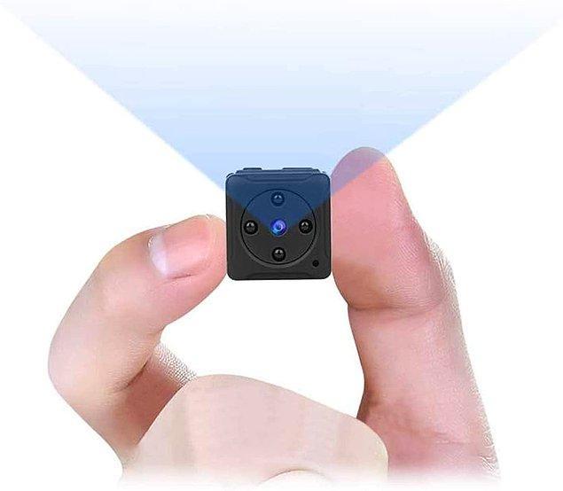 2. Bu mini gizli kamera, gece görüşü konusunda da tam bir canavar...