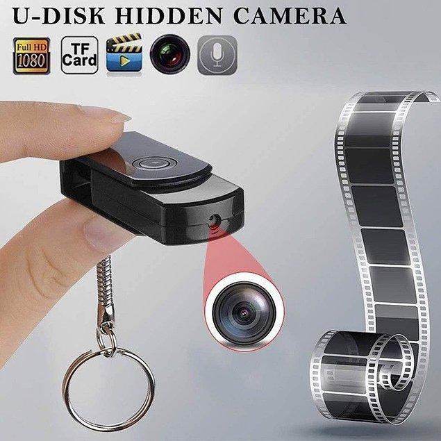 5. Gizli kamera modelleri ne kadar çokmuş meğer... Bu da usb bellek görünümünde bir casus kamera.